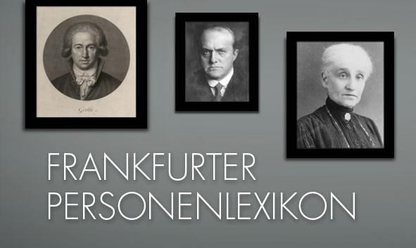 Theobald Christ im Frankfurter Personenlexikon