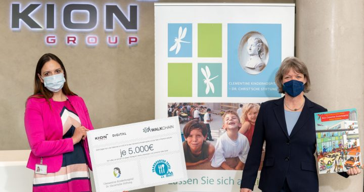 KION Group spendet 5.000 Euro – mit Muskelkraft erarbeitet!